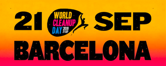 Evento World Clean Up Day Barcelona Limpieza Playa