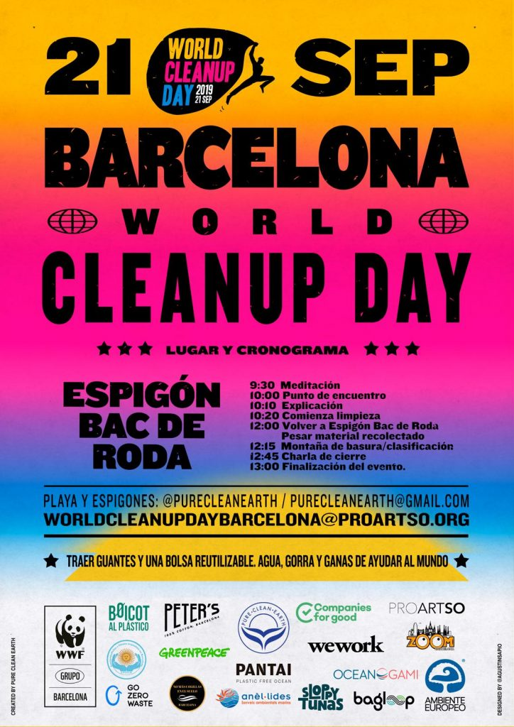 world cleanup day barcelona