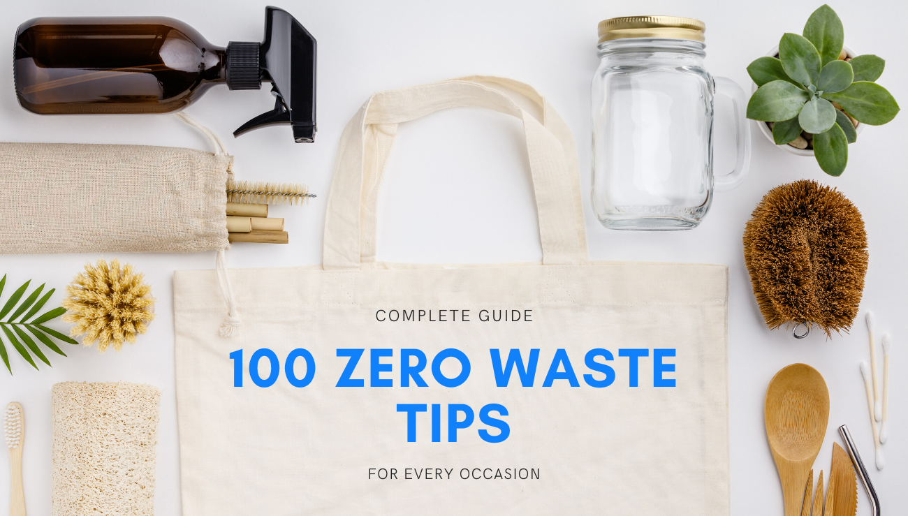 100 zero waste tips for every occasion