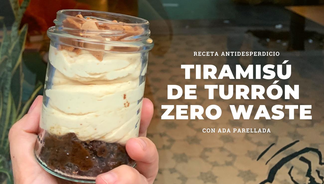 tiramisu de turron receta antidesperdicio zero waste ada parellada sempronianan